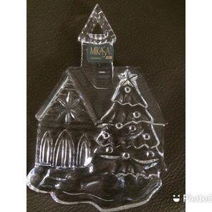 Mikasa Crystal Chapel Ornament Joyous Collection